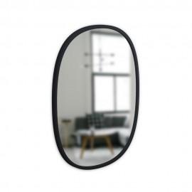 miroir mural ovale noir umbra hub 1013765-040