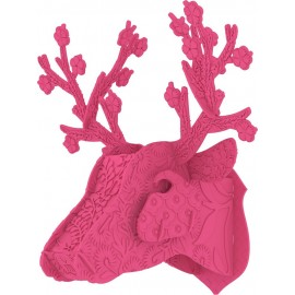 trophee tete de cerf rose miho unexpected things ppcer185