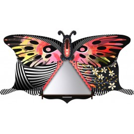 papillon mural decoratif rangement secret violetta miho farfs443