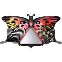 papillon mural decoratif rangement secret violetta miho farfs443