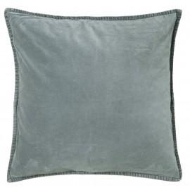 housse de coussin carree velours bleu poudre 50 x 50 cm ib laursen