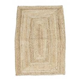 tapis de chambre en chanvre naturel beige house doctor rm0102-85x130