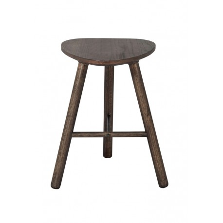muubs tabouret epure trepied bois fonce 9340000108