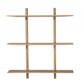 muubs etagere murale epuree bois clair 9340000105