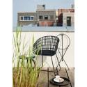 pols potten tokyo fauteuil design rotin noir metal 550-020-087