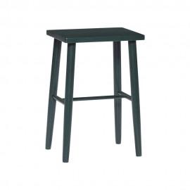 hubsch tabouret design vert bois 880719