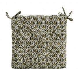 Coussin de chaise coton motifs Madam Stoltz