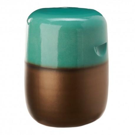 pols potten pill tabouret bout de canape ceramique vert 240-030-002