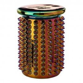 pols potten tabouret bout de canapé design original emaille oily spikes