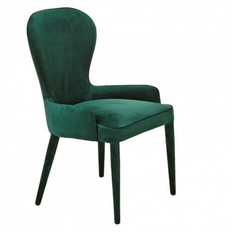 pols potten aunty fauteuil velours vert 550-020-090