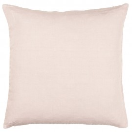 ib laursen housse de coussin lin rose clair pastel 50 x 50 cm