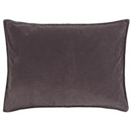 ib laursen housse de coussin rectangulaire velours violet 50 x 70 cm