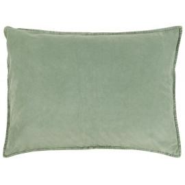 ib laursen grande housse de coussin rectangulaire vert clair