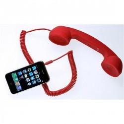 POP PHONE MOSHI MOSHI COMBINÉ ROUGE