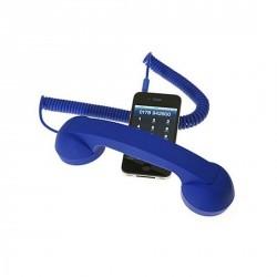 COMBINÉ RÉTRO IPHONE POP PHONE BLEU