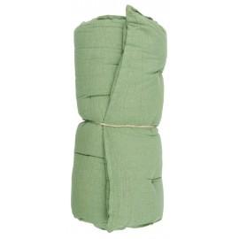 matelas de transat coton vert uni ib laursen