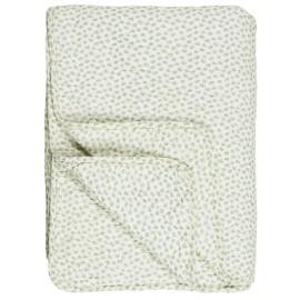 ib laursen plaid matelasse coton imprime motif vert