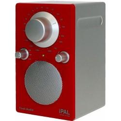 Radio design tivoli ipal rouge/argent