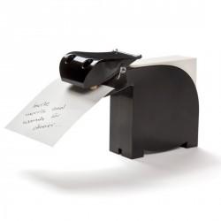 Porte bloc notes rigolo pa design bianca noir