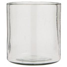 Vase droit verre épais IB Laursen Hurricane