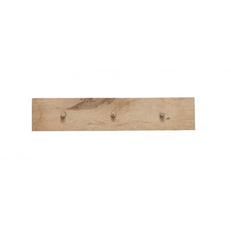 portemanteau mural epure design bois clair 3 pateres hubsch