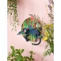 studio roof jungle puma decoration murale animal de la jungle