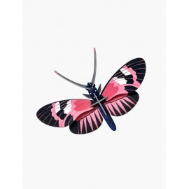 papillon heliconius rose decoration murale studio roof