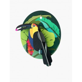 oiseau decoratif mural toucan studio roof