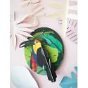 oiseau decoratif mural toucan studio roof
