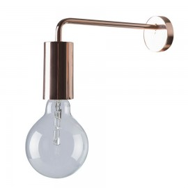 Frandsen Wall Light Bulb metal shiny copper