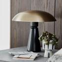 house doctor thane lampe de table chic metal bois laiton