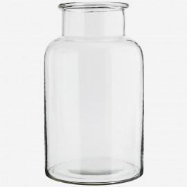 Vase bocal terrarium verre Madam Stoltz transparent