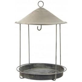 Mangeoire pour oiseaux ronde metal vintage ib laursen