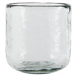 Petit cache-pot verre épais transparent IB Laursen