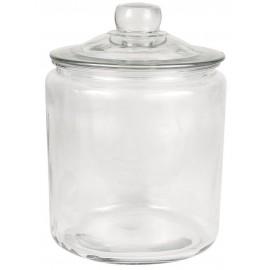 grand bocal ancien vintage verre couvercle verre ib laursen 4 litres