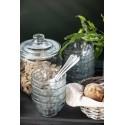 Bocal cuisine xl vintage couvercle verre IB Laursen 5.5 litres
