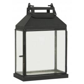 lanterne rectangulaire metal noir style campagne ib laursen