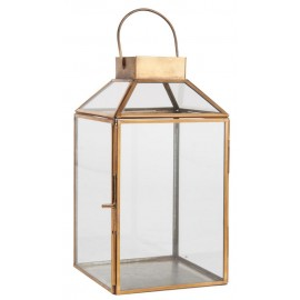 lanterne laiton verre style campagne  ib laursen