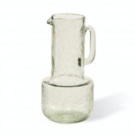 pols potten jug bubbles carafe  a eau design verre bulle