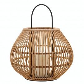 Lanterne design ronde bambou naturel Pols Potten Apple