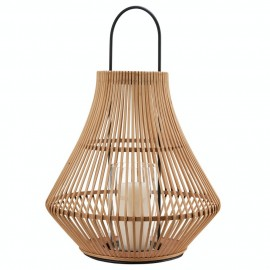 grande lanterne design bambou naturel pols potten pear