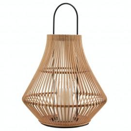 Grande lanterne design bambou naturel Pols Potten Pear
