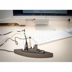 Hub port usb design bateau manta design
