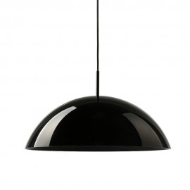 hk living cupola suspension coupole noir laque