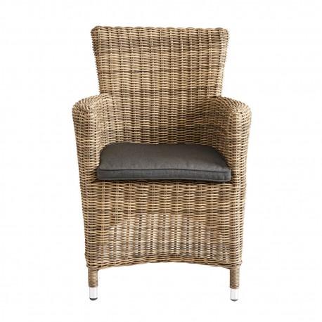 muubs livorno fauteuil de table d exterieur imitation rotin