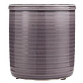 Cache-pot céramique émaillée lavande IB Laursen