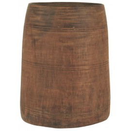 vase en bois recycle ib laursen himalaya