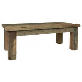 table basse bois rustique ancien recycle style campagne ib laursen unique