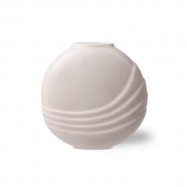 hk living vase ceramique rose rond plat style chic