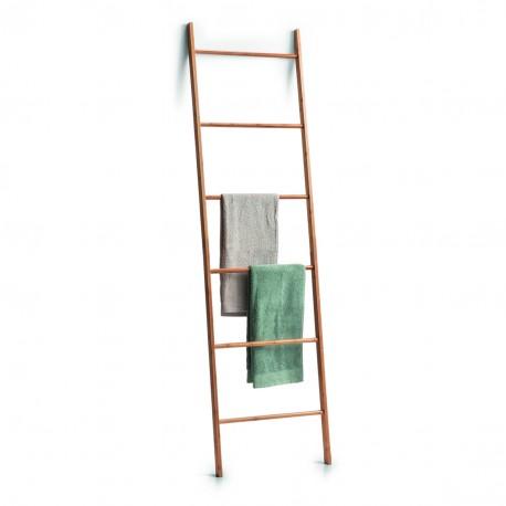 echelle bambou porte serviette zeller present